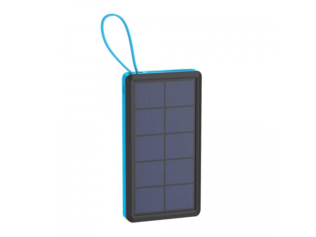 xlayer powerbank plus solar 10000mah cerna modra ilin.cz1