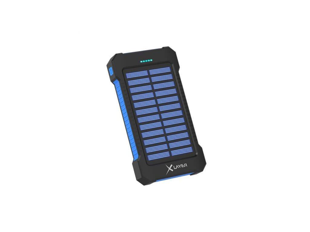 xlayer powerbank plus solar 8000mah cerna modra ilin.cz2