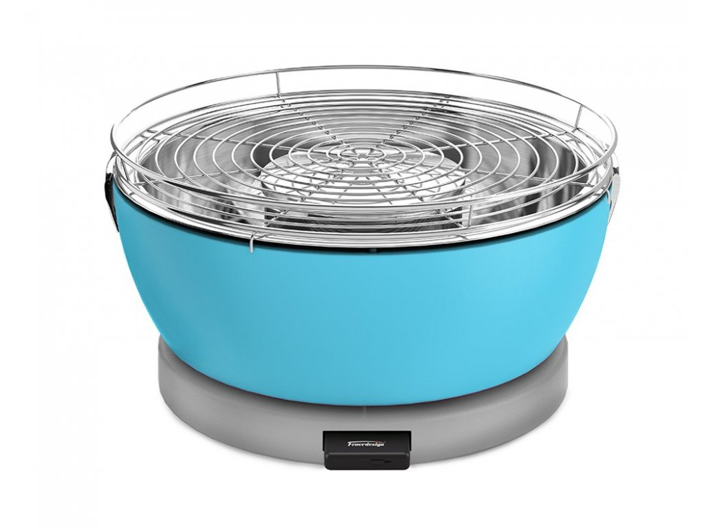 Feuerdesign stolní gril Vesuvio - modrý