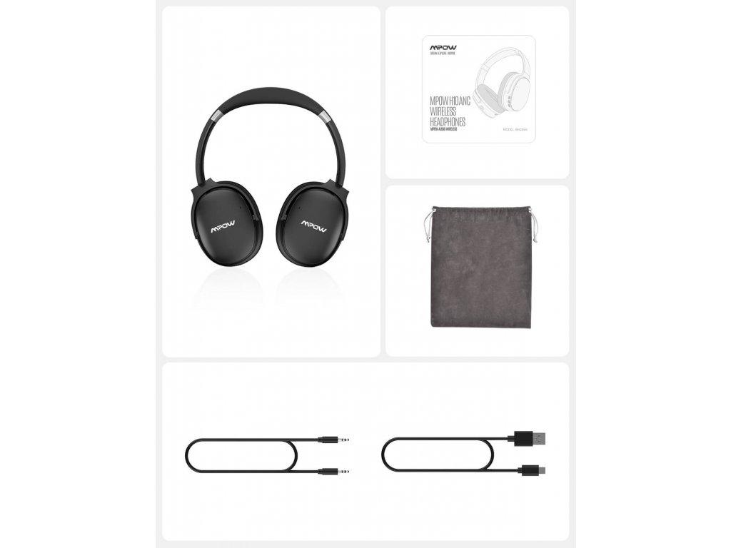 Bezdrátová sluchátka MPOW H10