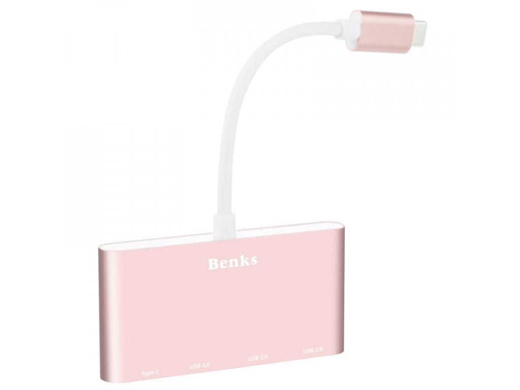 Benks USB-C 4 v 1 HUB