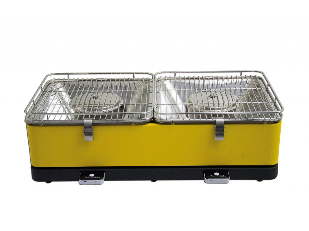 Tischgrill Santorin gelb gross 1 GIALLO