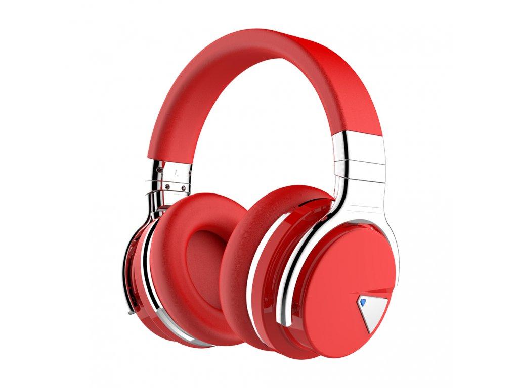 Sluchátka Cowin E7 ANC červená