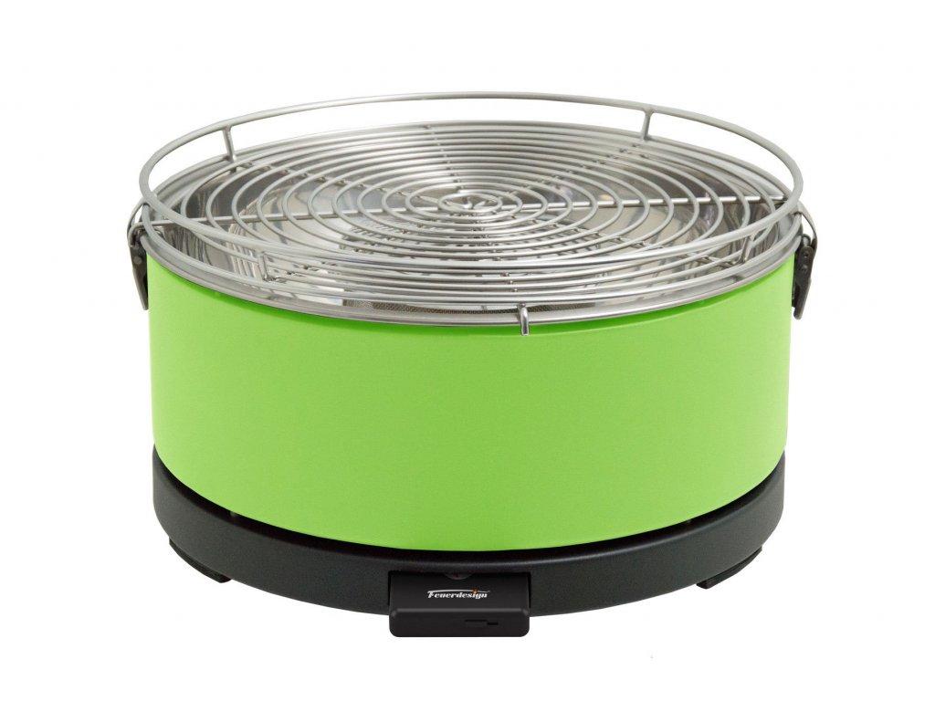Feuerdesign stolní gril Mayon zelený - 14012