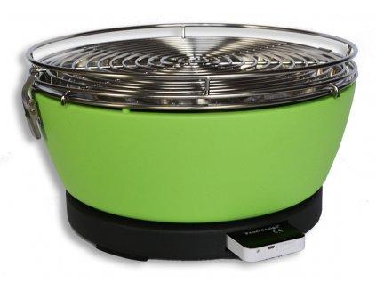 Feuerdesign stolní gril Vesuvio - zelený