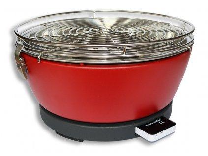Feuerdesign stolní gril Vesuvio - červený