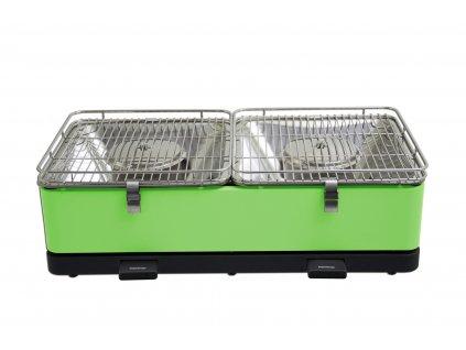 Feuerdesign stolní gril Santorin - zelený