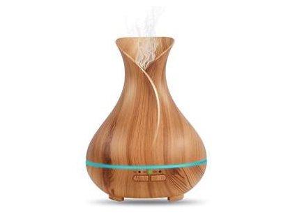 Aromacare Gantha Mini, ultrazvukový aroma difuzér, světlé dřevo, 150 ml