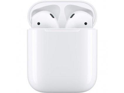 Sluchátka Apple AirPods , nabíjecí pouzdro (2019)