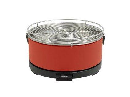 Feuerdesign stolní gril Mayon červený - 14012