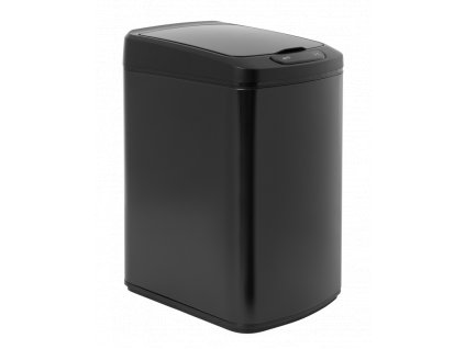 iq tech quadrat 15 l bezdotykovy odpadkovy kos hranaty cerny ocel plast 2